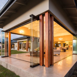 Frameless Folding door System